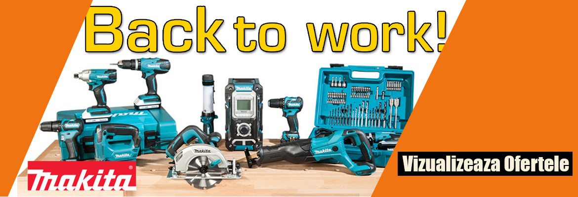 Back To Work - Makita