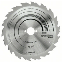 DISC SPEEDLINE WOOD 300X30X28T